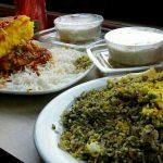 غذای رستوران مسلم