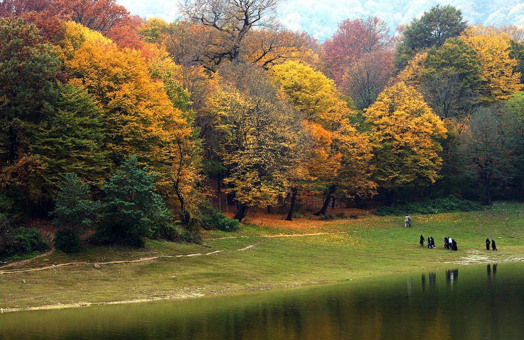 پاییز در این ۵ نقطه بیکران تر است