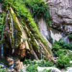 زیباییهای تمام نشدنی آبشار اخلمد