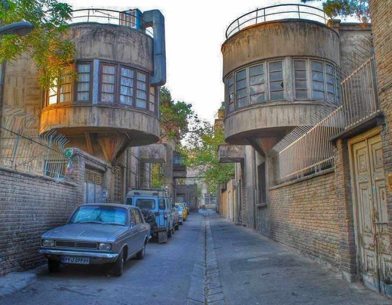 تاریخچه کوچه قرینه تهران