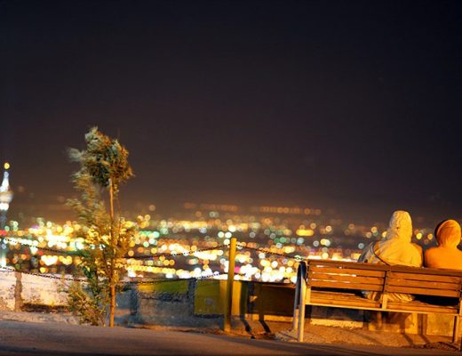 جاهای دیدنی تهران در شب