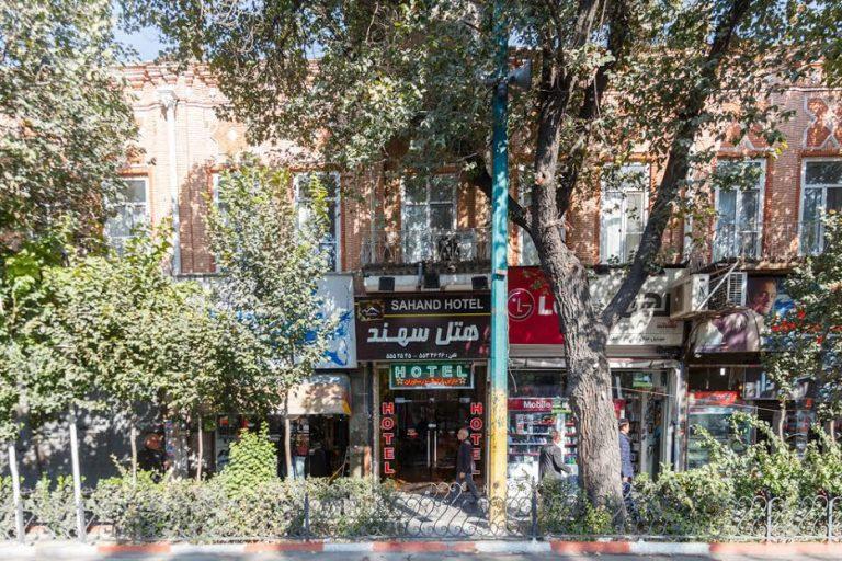 هتل های ارزان قیمت تبریز