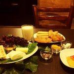افطار در کافه
