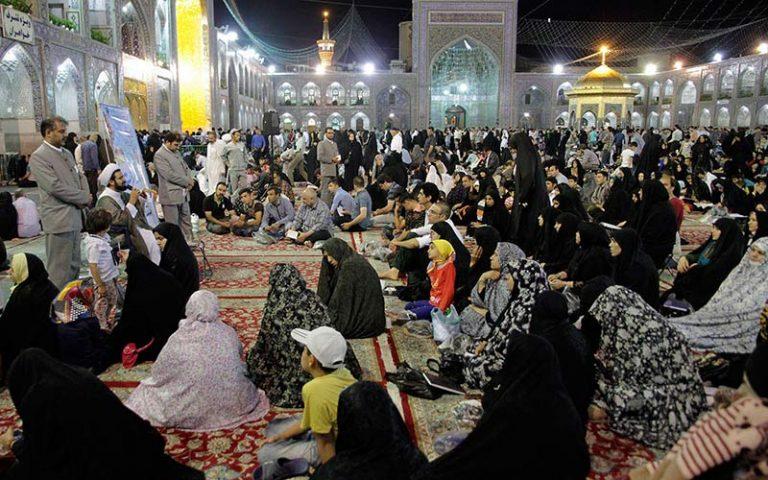 حرم در ماه رمضان