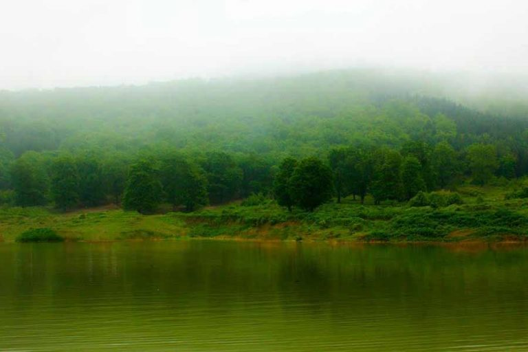 گلستان -گرگان -دریاچه توشن (www.mihanseir.com)