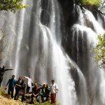 آبشار زرد لیمه شهرکرد