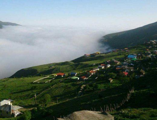 لاویج روستای زیبای مازندران