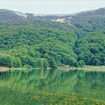 دریاچه ویستان در شهر زیتون