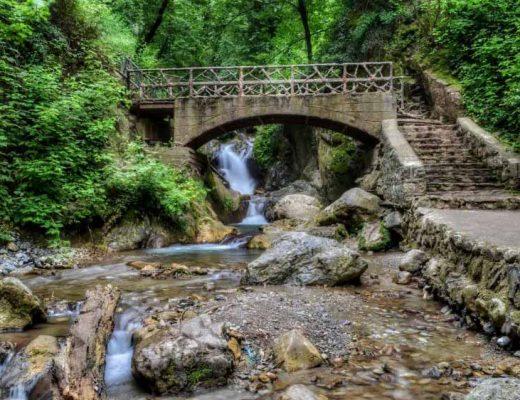 مسیر آبشار کبودوال