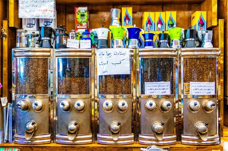 قهوه فروشی تهران