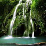 آبشار کبودوال جاذبه گردشگری علی آباد کتول