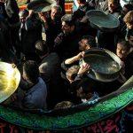 طشت گذاری در تبریز و اردبیل