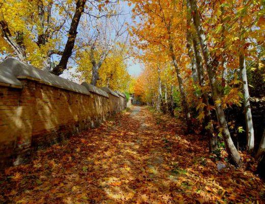 جاهای دیدنی ایران در پاییز