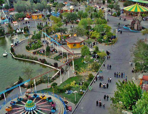 جاهای تفریحی تبریز