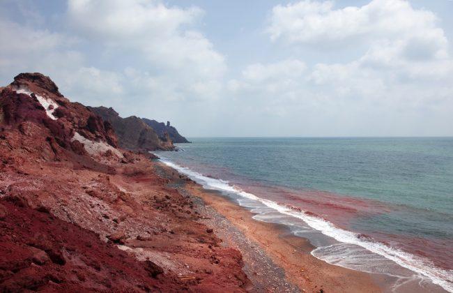 عکس زیبا از جزیره ی هرمز