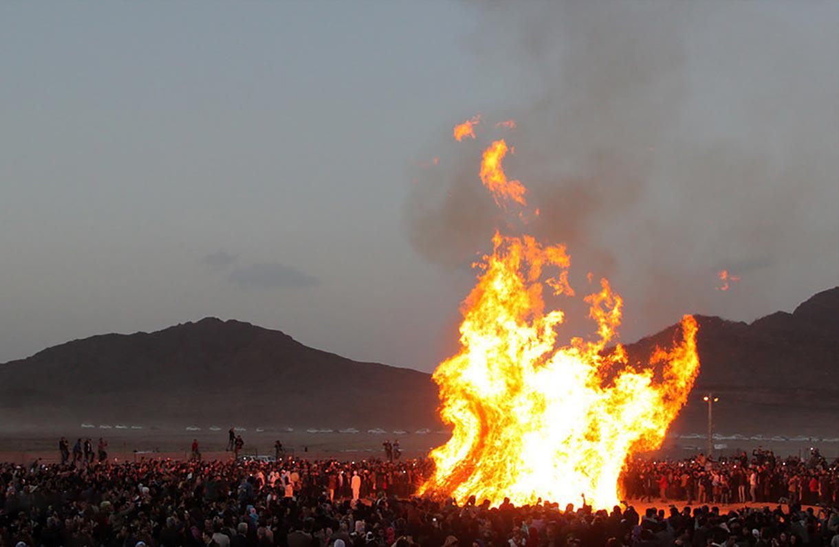 جشن سده یزد