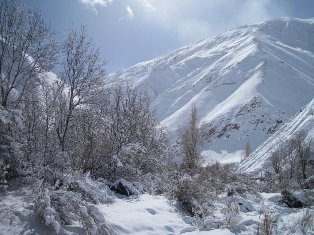 روستای آهار پیشنهاد سفر در زمستان