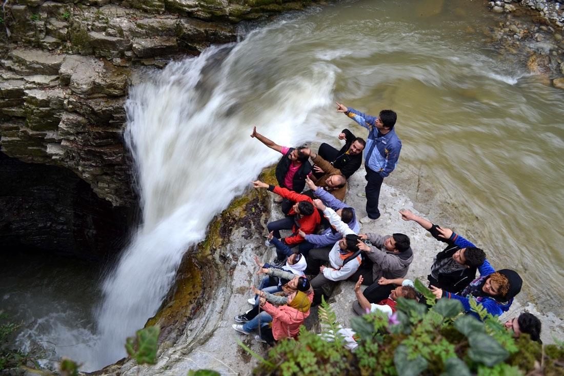 سومین آبشار مرتفع گیلان