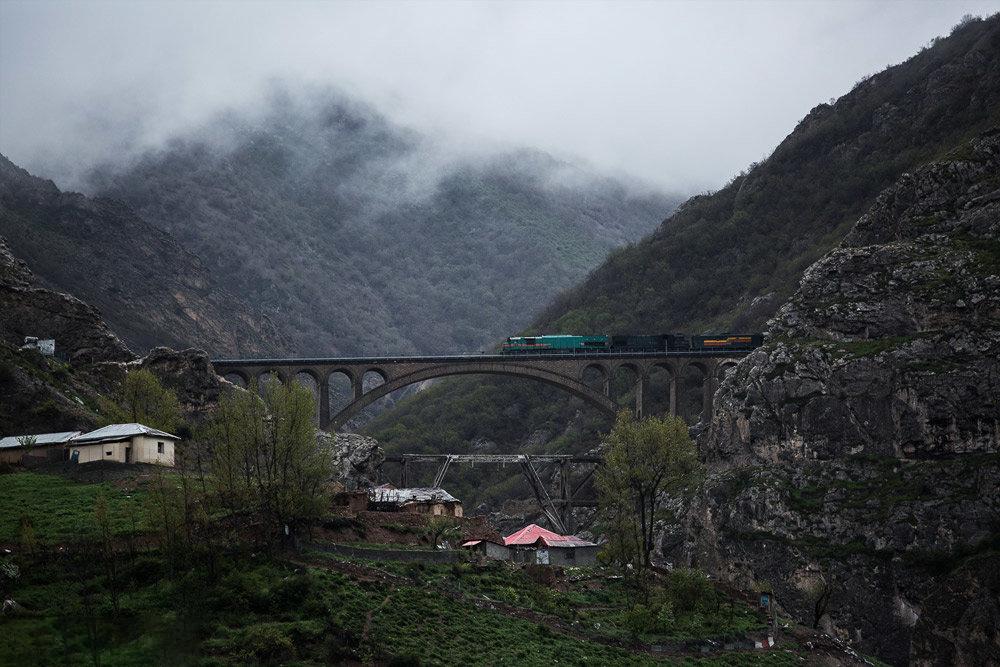 قطار تهران-گرگان