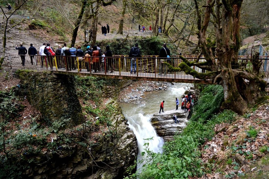 پل فلزی آبشار ویسادار