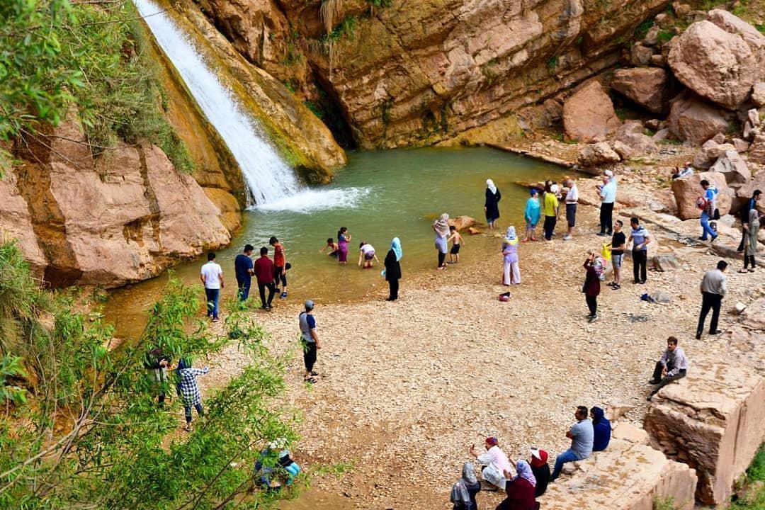 آبشار 95 متری نوژیان