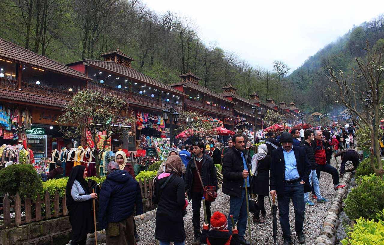 بازارچه قلعه رودخان