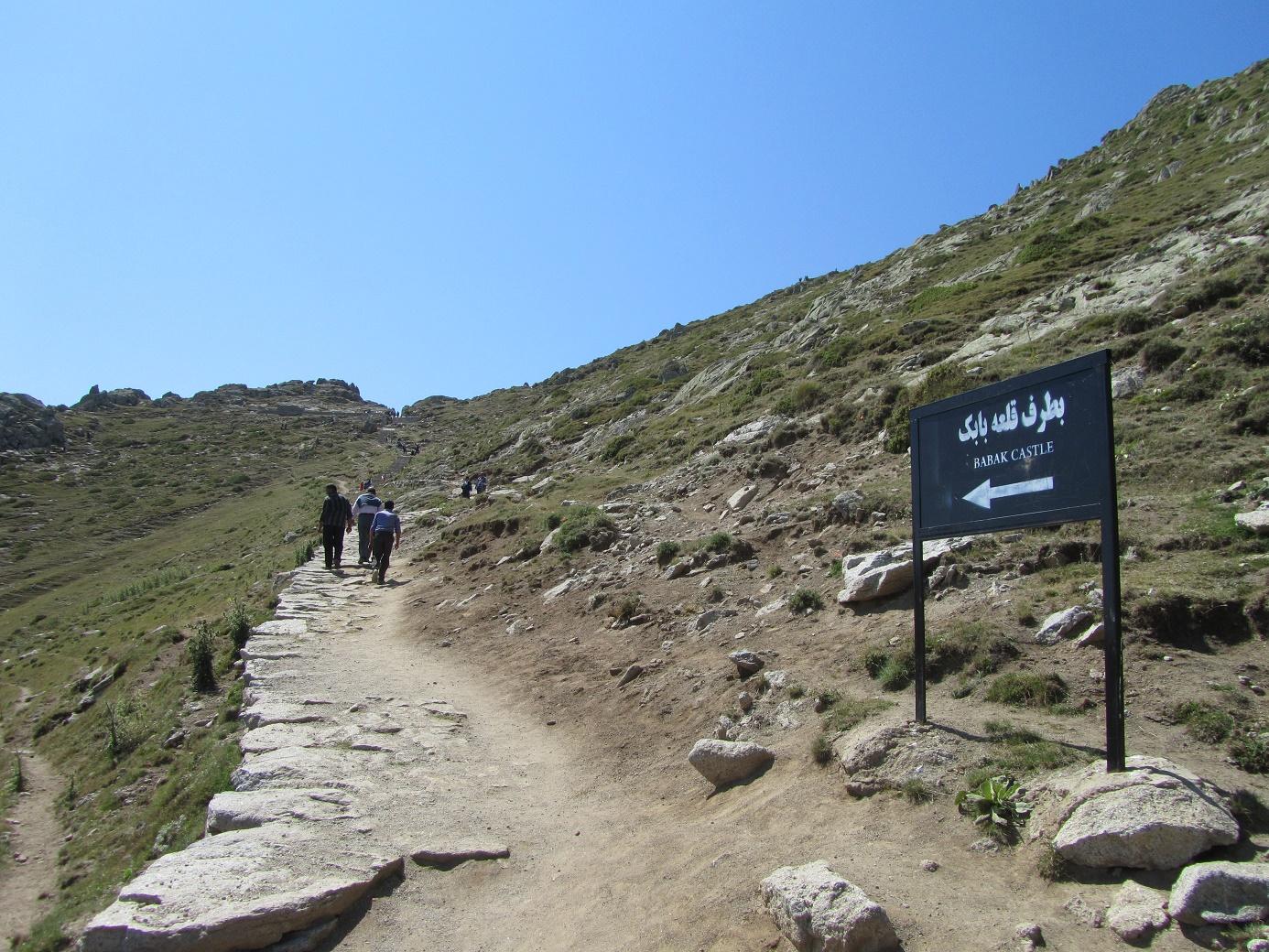 جاده دژ بابک