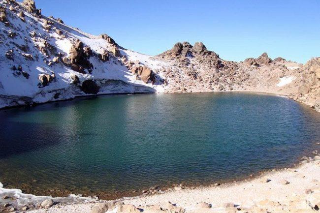 دریاچه کوه سبلان