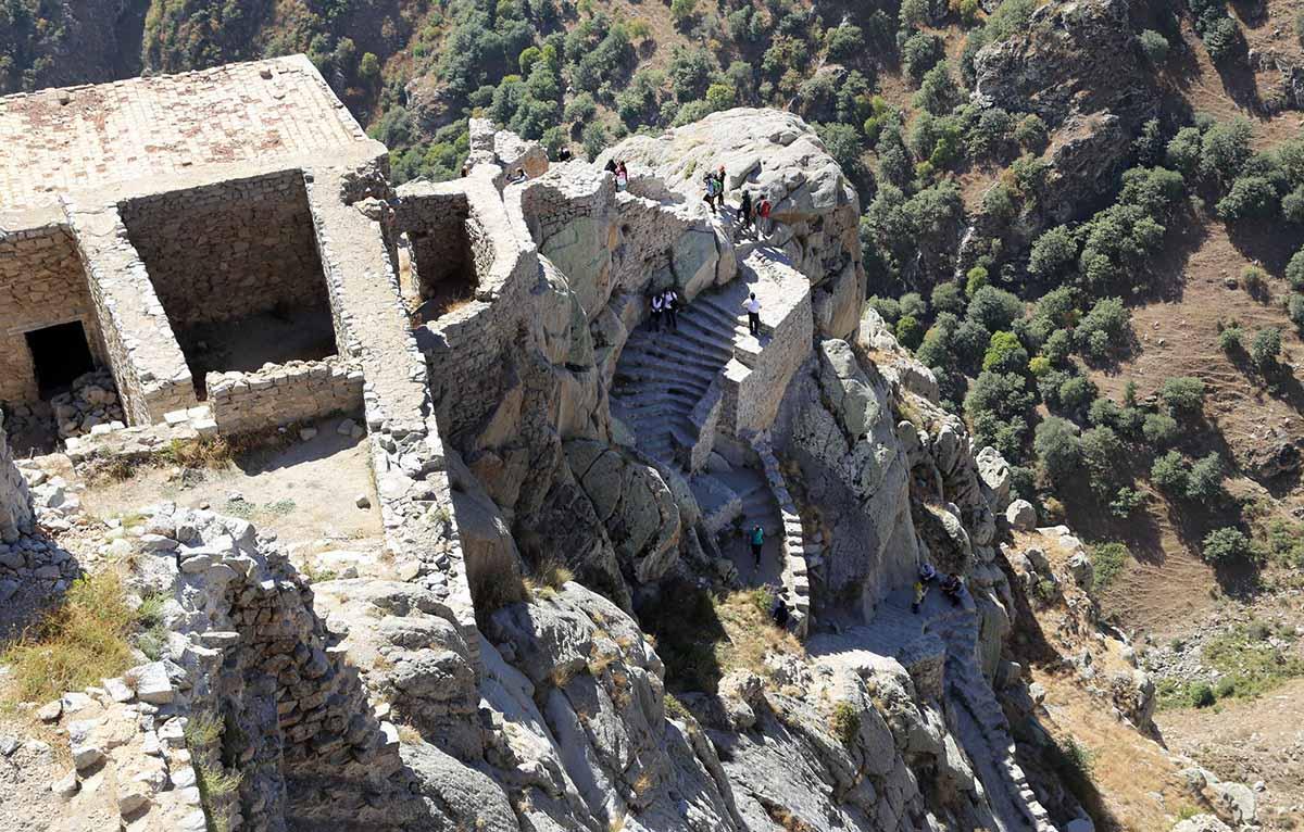 مسیر رسیدن به قلعه بابک