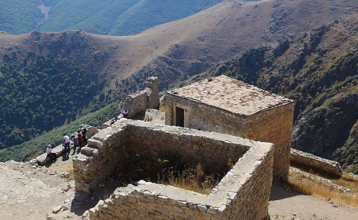معماری قلعه بابک