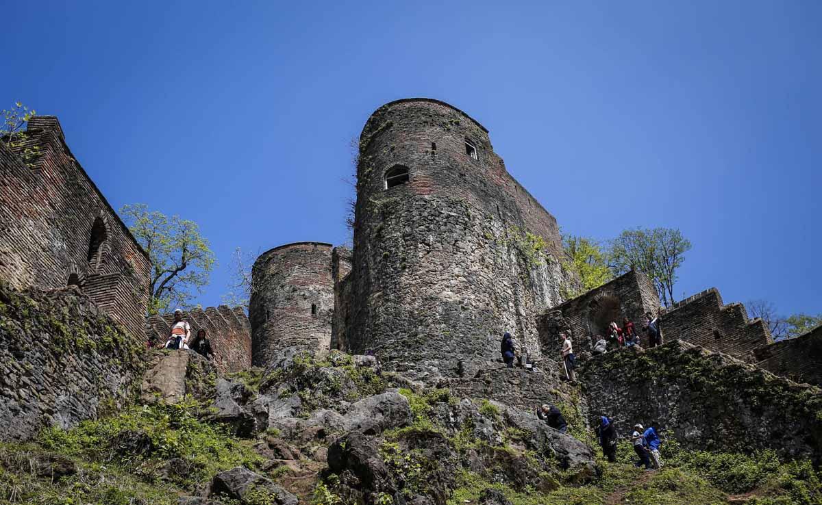 معماری قلعه رودخان