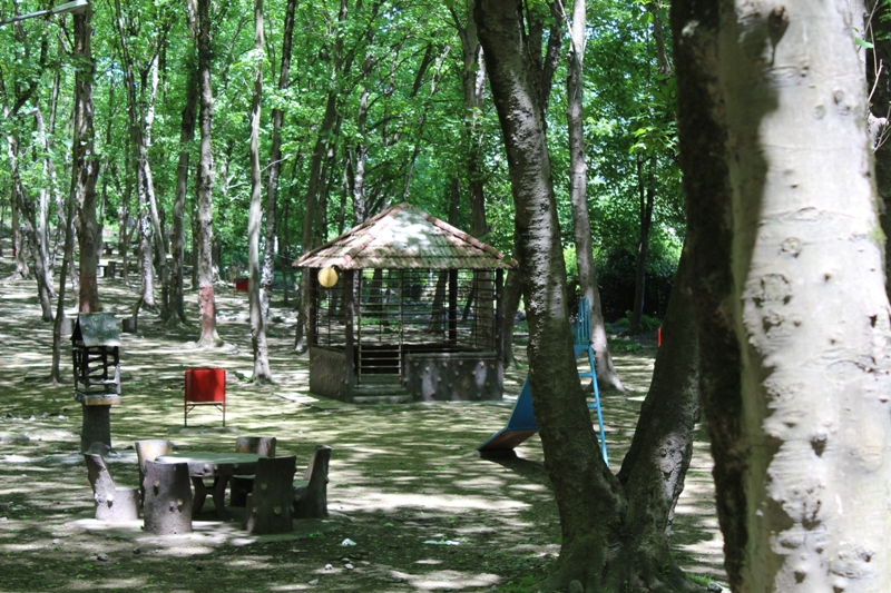 پارک جنگلی میرزا کوچک خان آمل
