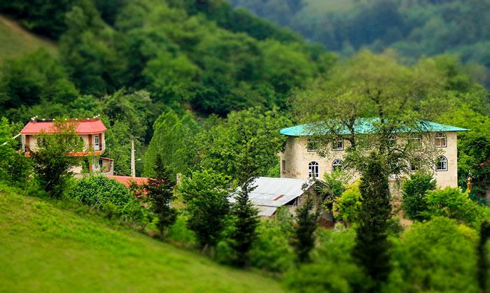 ویلاهای روستای چورت