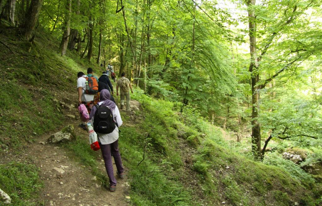 مسیر رسیدن به غار دانیال
