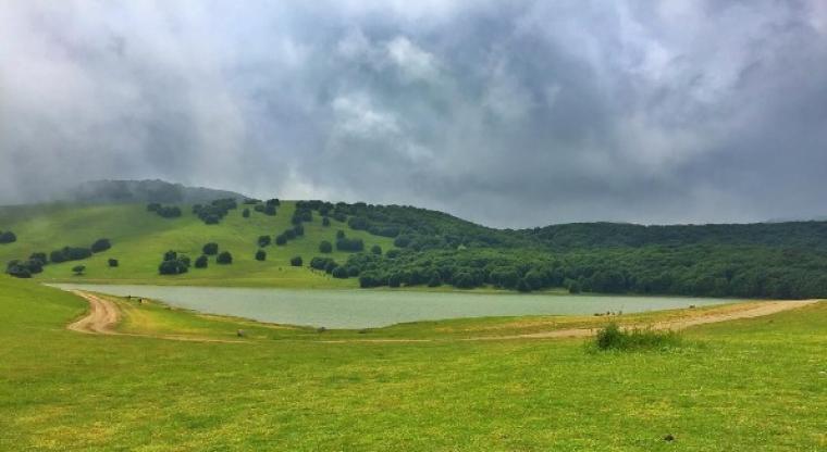 منظره دریاچه سوها