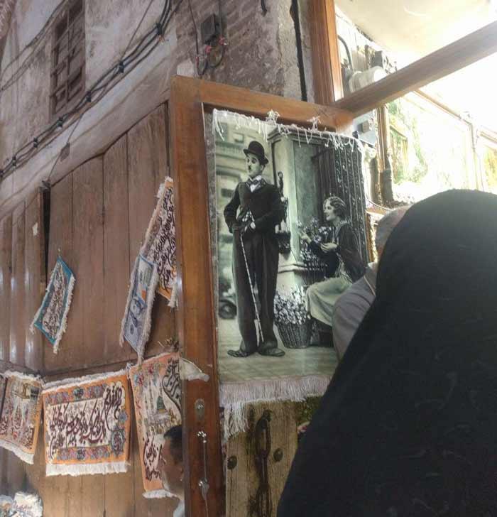 تابلو فرش های بازار تبریز