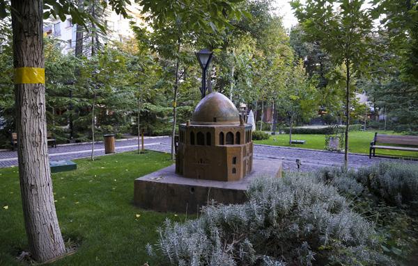 ماکت های باغ موزه هنر ایرانی
