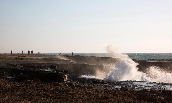 ساحل خروشان نایبند
