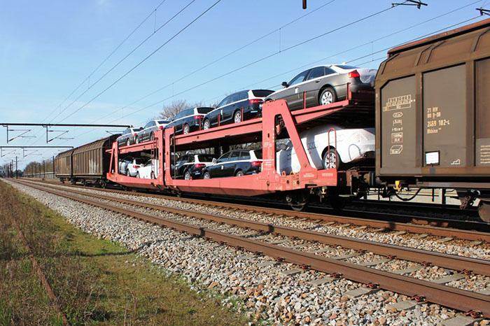 هزینه حمل خودرو با قطار