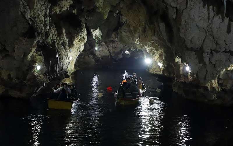 محوطه غار سهولان