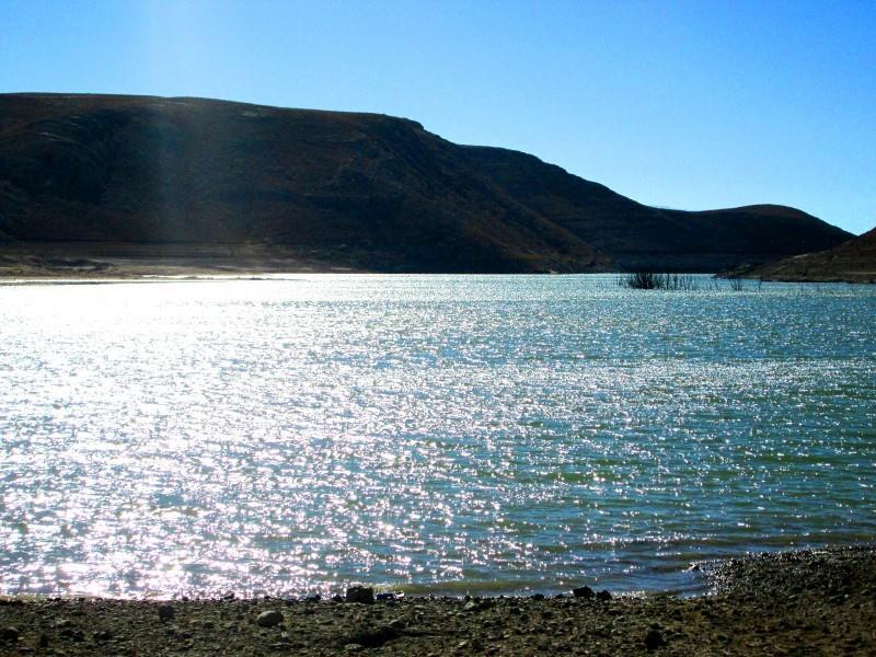 دریاچه سد حنا