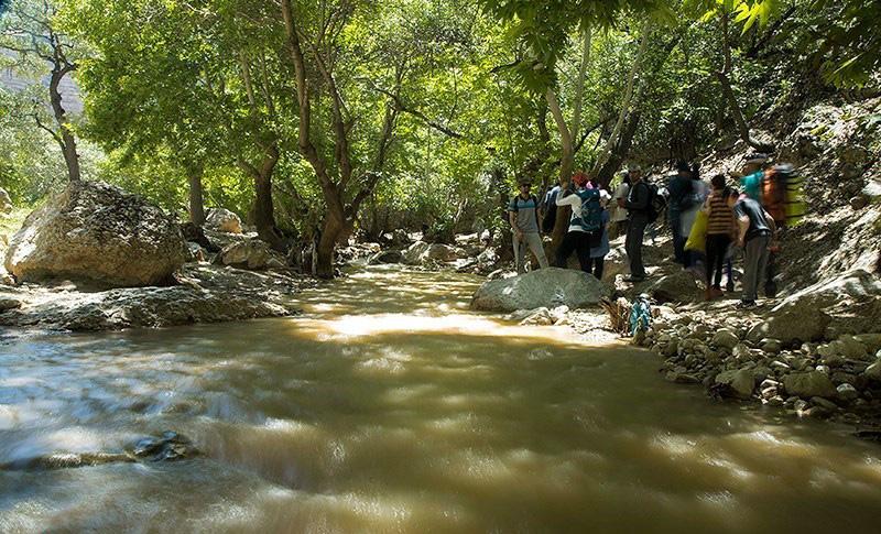 رودخانه تنگه شیرز