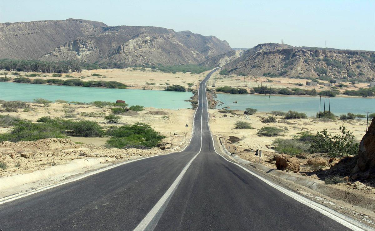 مسیر دسترسی به تالاب لیپار