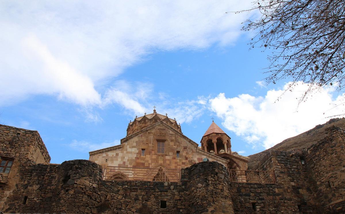 نمایی از کلیسای استپانوس مقدس