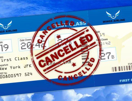 کنسل کردن بلیط هواپیما