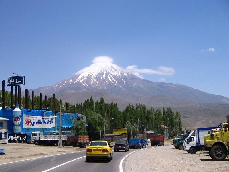 جاده پلور به مازندران