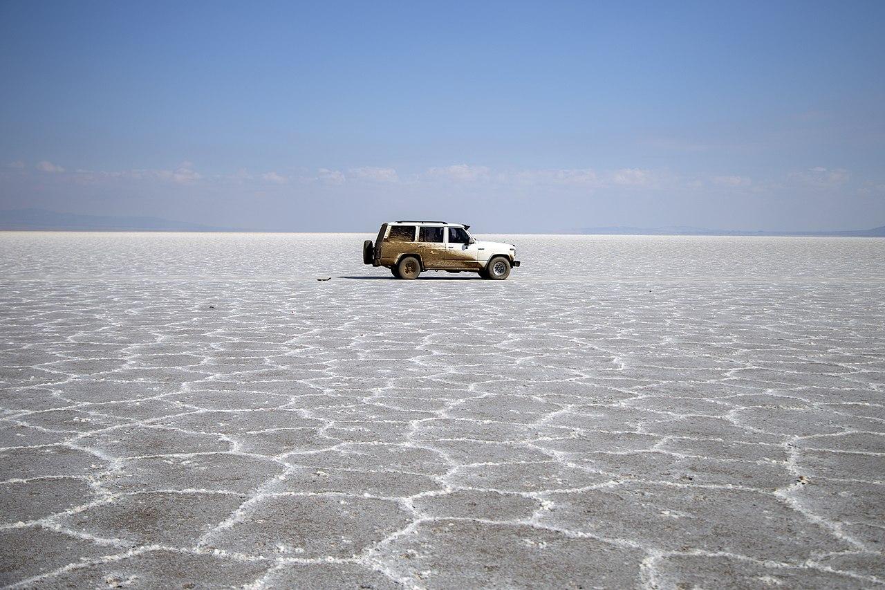 دریاچه نمک آران و بیدگل