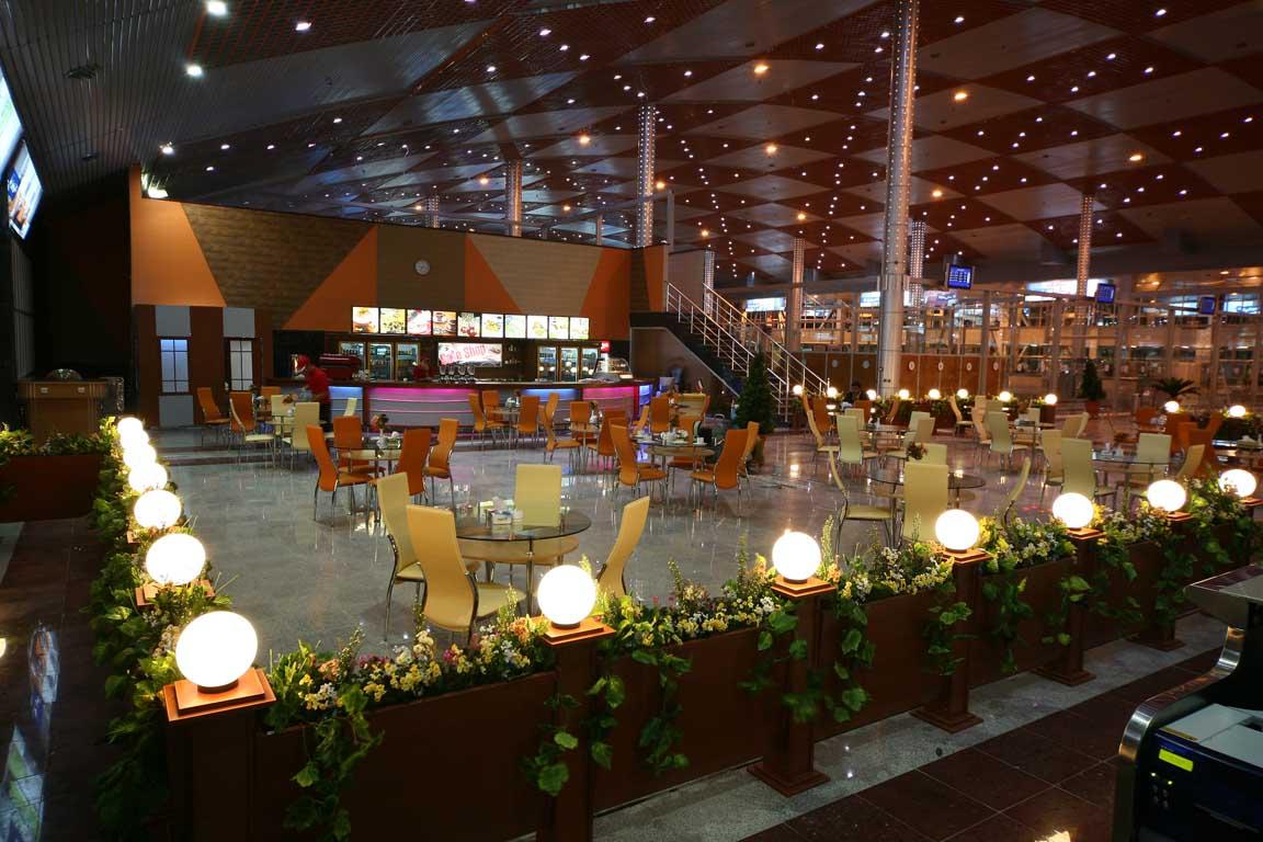رستوران فرودگاه بین المللی تبریز