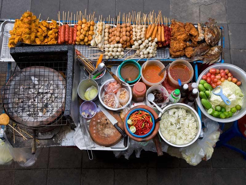 مسمومیت با غذای خیابانی
