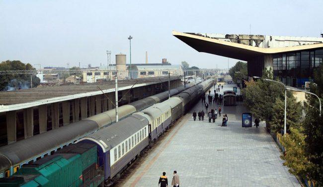 قطار بندرعباس